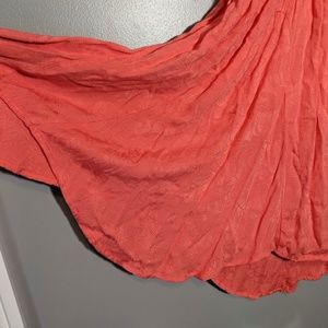 Free People Dresses - Free People Dress Embroidered Top Small Coral